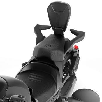 Abnehmbare Beifahrer-Rückenlehne - Schwarz