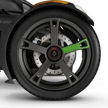 Felgenaufkleber - Supersonic Green