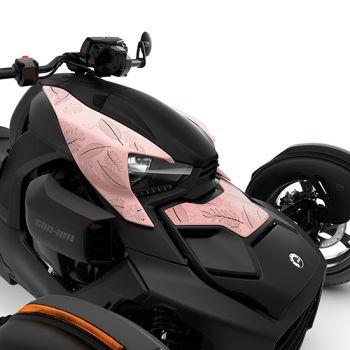 Verkleidungssatz Exclusive - Pink Bloom – Limited-Edition – Hochglanzfinish