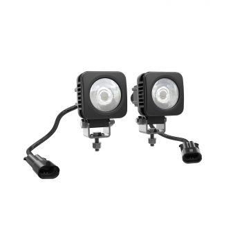 Quadratische 5cm-LED-Leuchten (2 x 10 W)