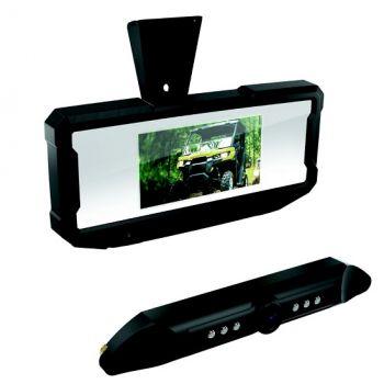 Rückspiegel mit Kameramonitor